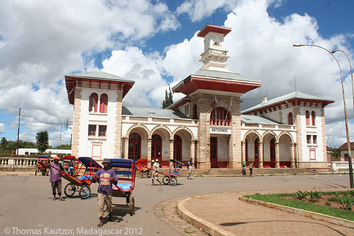 Railways in Madagascar