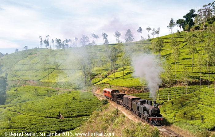 Broad Gauge Steam in Sri Lanka 2018
