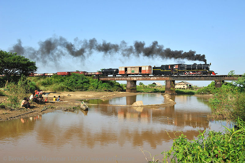 State Railway Steam in Burma/Myanmar