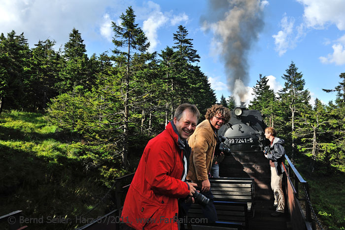 The right sound on the ears: on the way to the Brocken