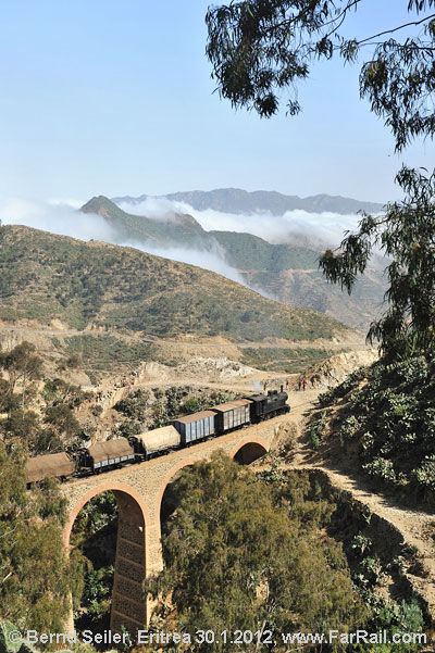 The viaduct at Shegereni - on the way to Asmara