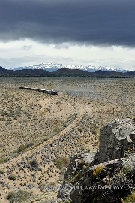 La Trochita - The Old Patagonia Express: Nahuel Pan