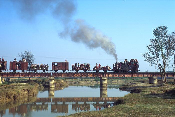 Janakpur Nepal  city images : typical scene on the Janakpur Railway