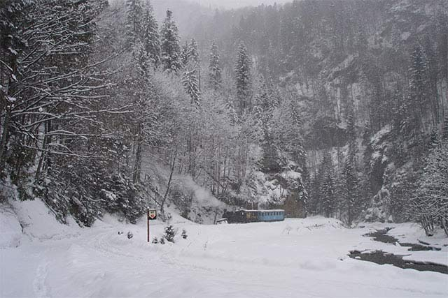 winter in the mountains, photo: Sebastian Trolle, 2006