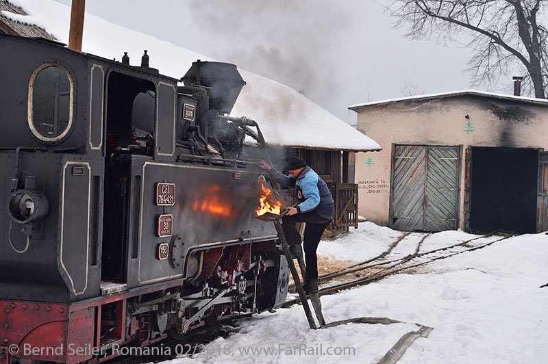 Steam in Romania: Moldovita