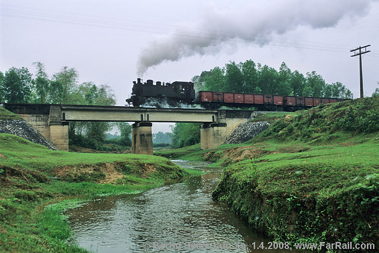 Steam near Luu Xa